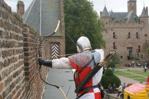 Verschieting voor de longbow: SHOOT AT THE MARKS @ Kasteel Doornenburg | Doornenburg | Gelderland | Nederland