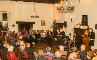 Storyville Jassband in kasteel Doornenburg